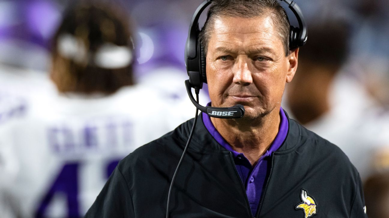 Rick Dennison Out as Minnesota Vikings Assistant Coach After Refusing to Get Coronavirus Vaccine
