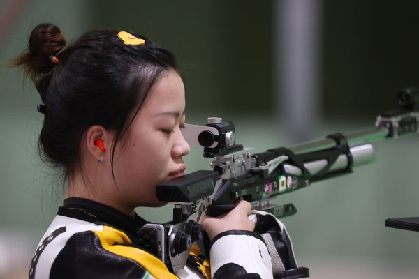 China's Yang wins 1st gold of Tokyo in air rifle