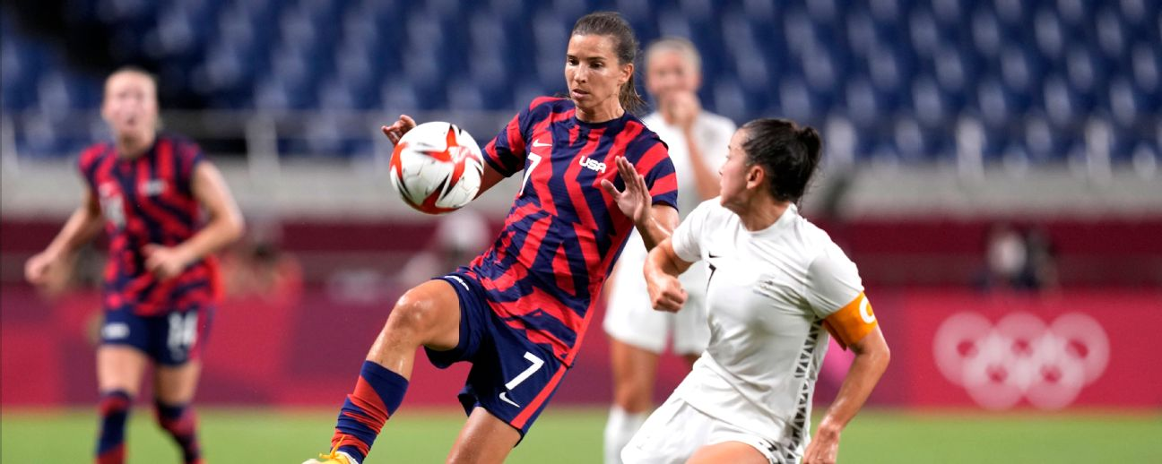 USWNT back on track, closing in on first win at the Olympics