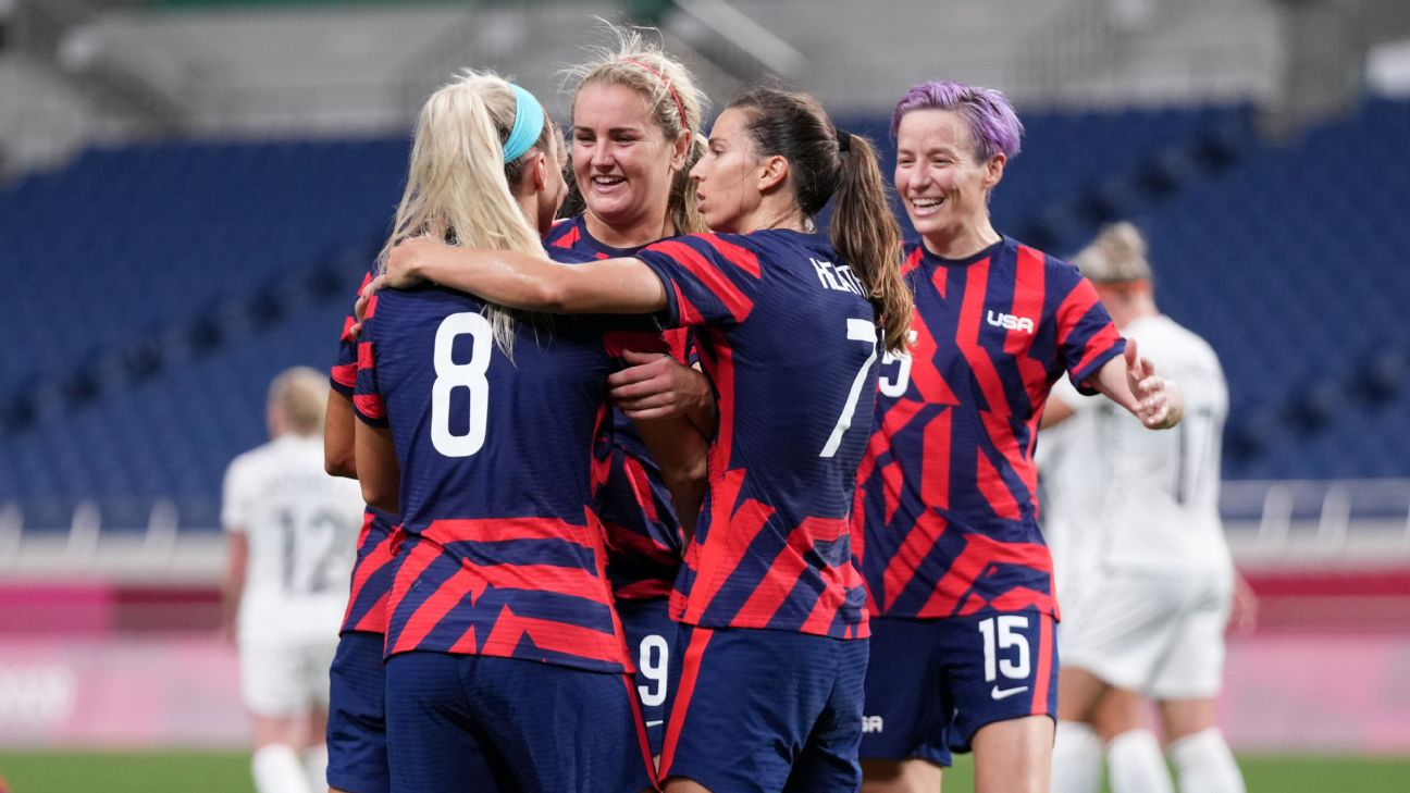 USWNT thump New Zealand, but this team's still lacking something