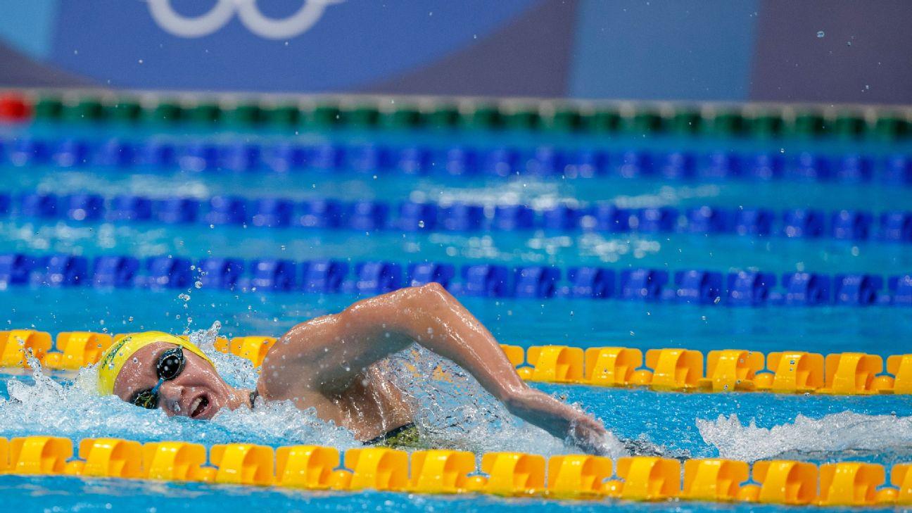 ICYMI: Gymnastics upset, Katie Ledecky grabs silver, Caeleb Dressel takes gold and more