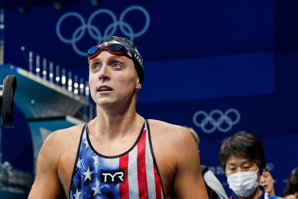 Ledecky 5th as Titmus golden again in 200 free