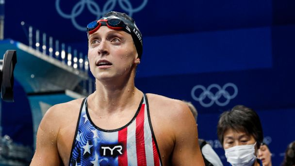 6,000 meters to immortality: Win or lose, Katie Ledecky has her Olympic legacy