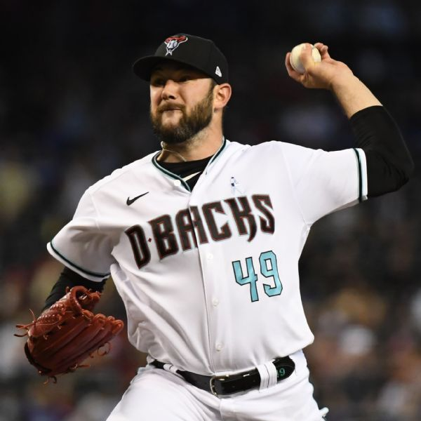 Indians claim LHP Young off waivers from D-backs