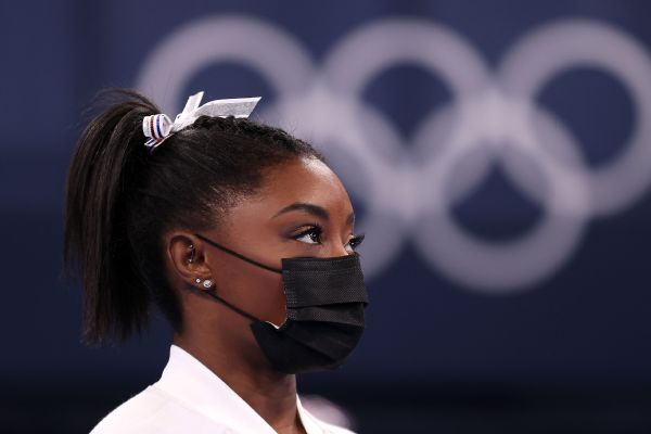 Biles withdraws from individual all-around final