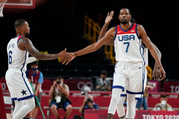 U.S. men bounce back, rout Iran by 54 points