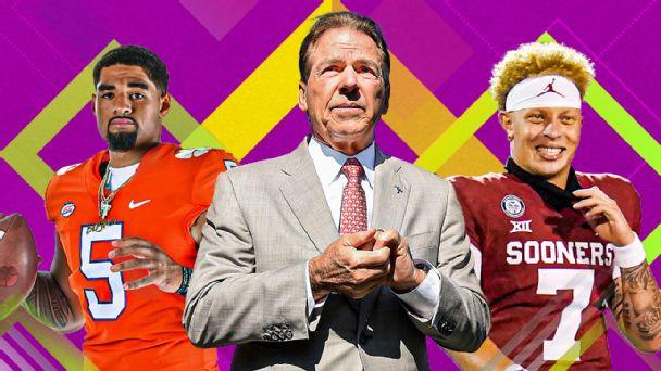 College football's preseason Top 25 rankings