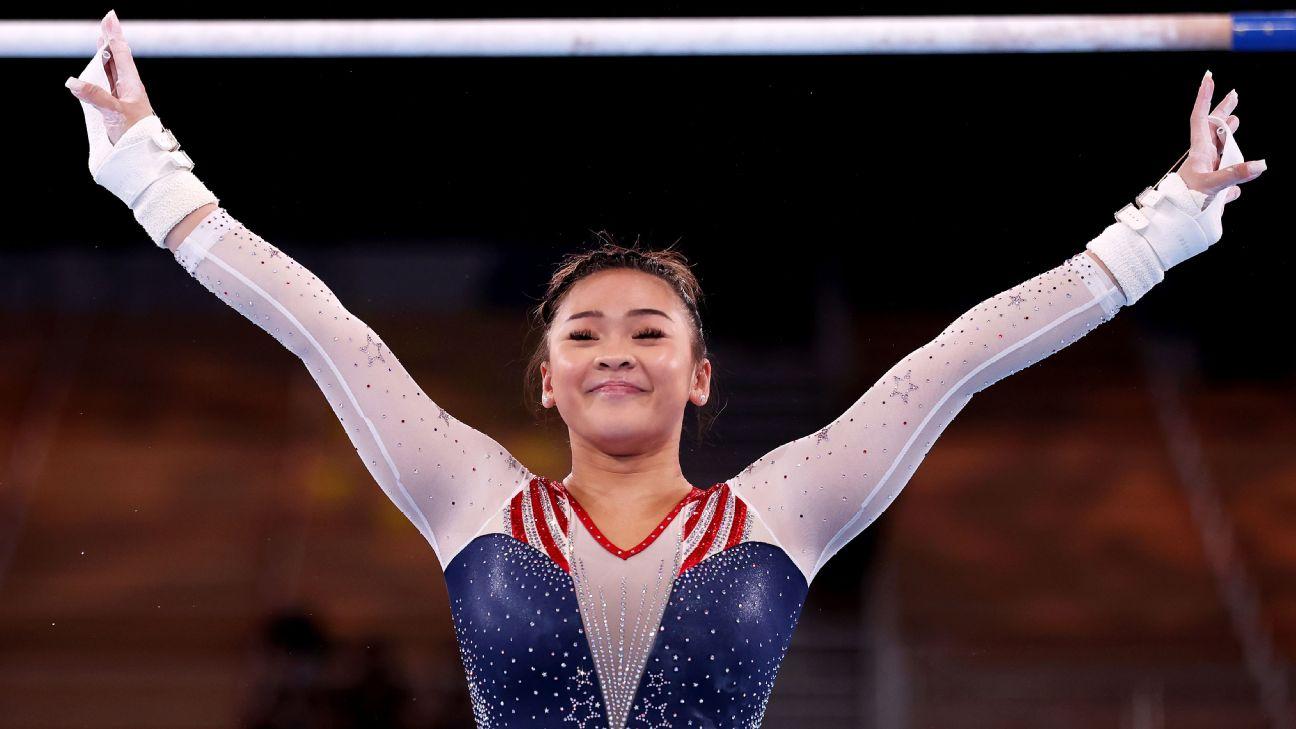 Olympic gymnastics updates: MyKayla Skinner wins silver, Suni Lee earns bronze in event finals