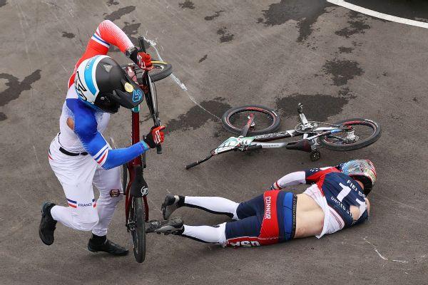 BMX racer Fields out of critical care after crash