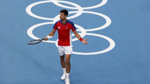Olympics 2021 live updates: Djokovic goes down, Schauffele take the lead, USA women's hoops wins again
