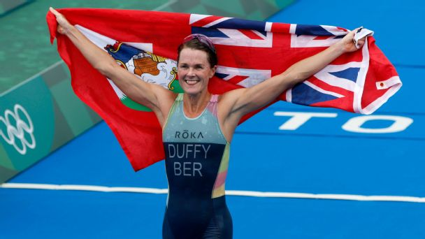 Flora Duffy on the 'surreal' feeling of winning Bermuda's first gold medal