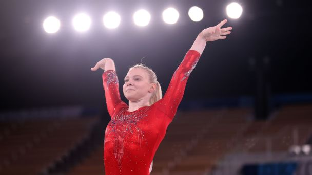 Jade Carey's wild path to the Olympic Games -- and possibly a gymnastics medal