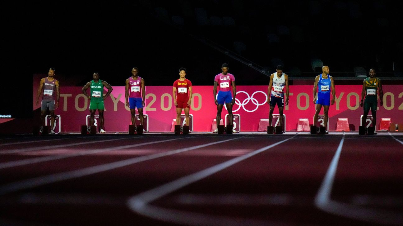 Where were the Jamaican men in the 100-meter final? Usain Bolt has thoughts