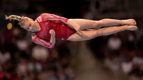 Team USA's Jade Carey can show her gold mettle while the best floor gymnast in the world sits out
