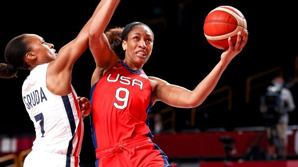 Follow live: Team USA takes on France in quarterfinal round