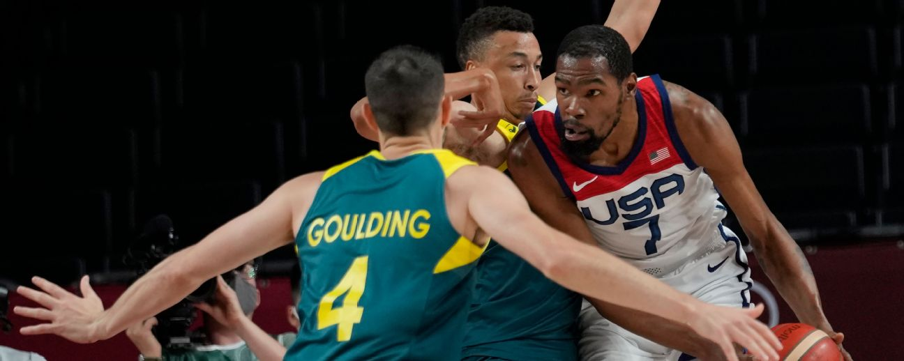 Follow live: U.S. men's hoops takes on Australia with sights set on gold medal game