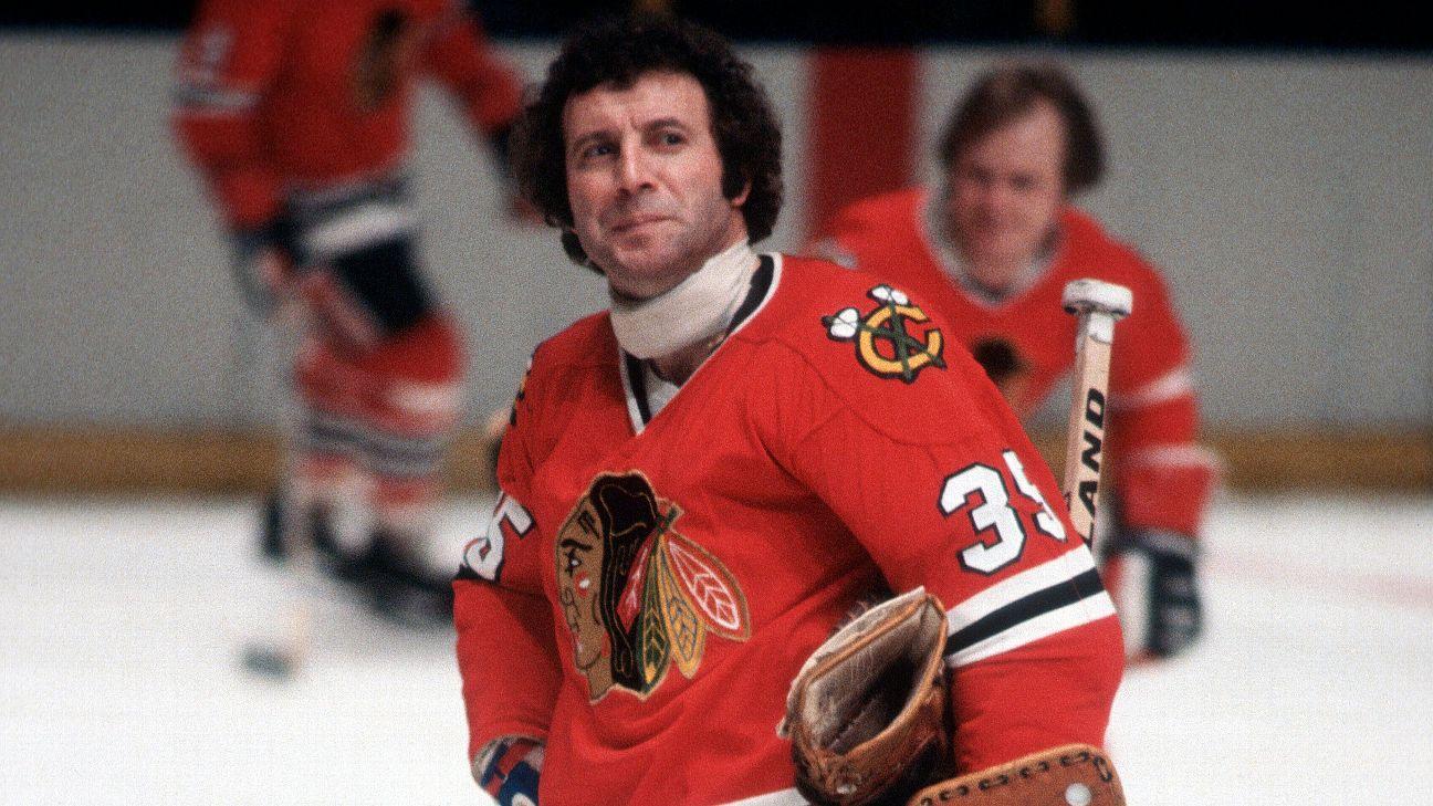 Hall of Fame Chicago Blackhawks goalie Tony Esposito dies - ABC7 Chicago