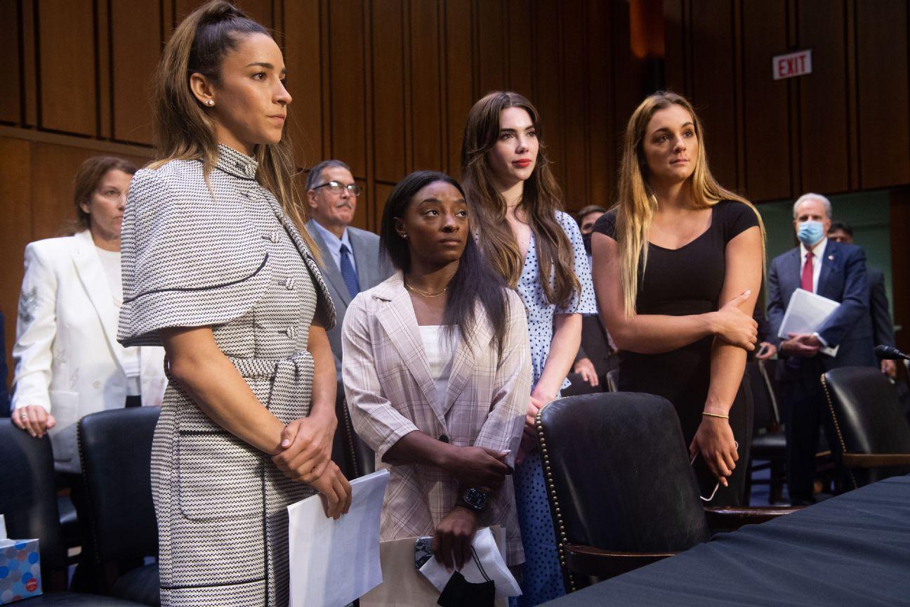Star gymnasts say FBI mishandled Nassar case
