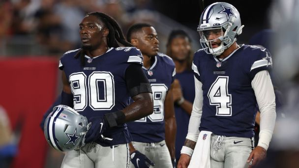 Week 2 injuries: Updates on DeMarcus Lawrence, Ryan Fitzpatrick and more