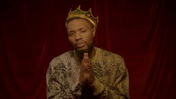 Damian Lillard pays homage to various iconic figures in new music video