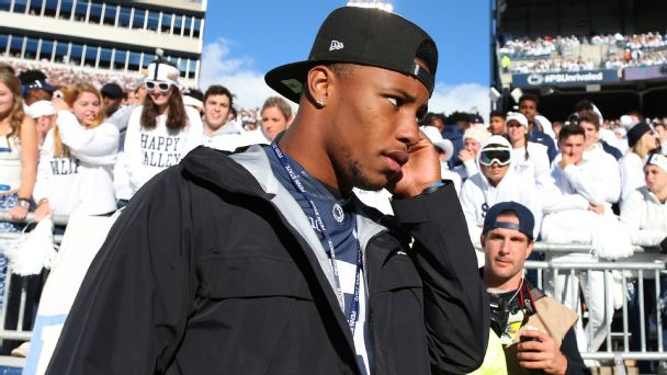 Scenes from Saquon Barkley's Penn State homecoming