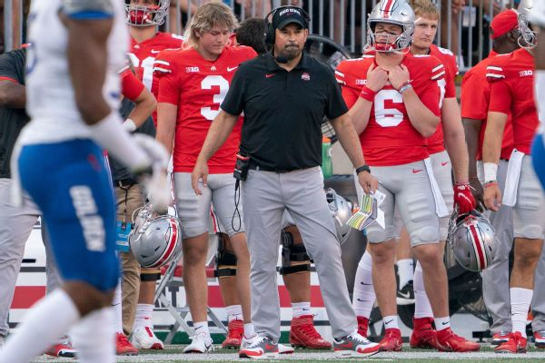 Buckeyes' Day: DC Coombs didn't call plays Sat.