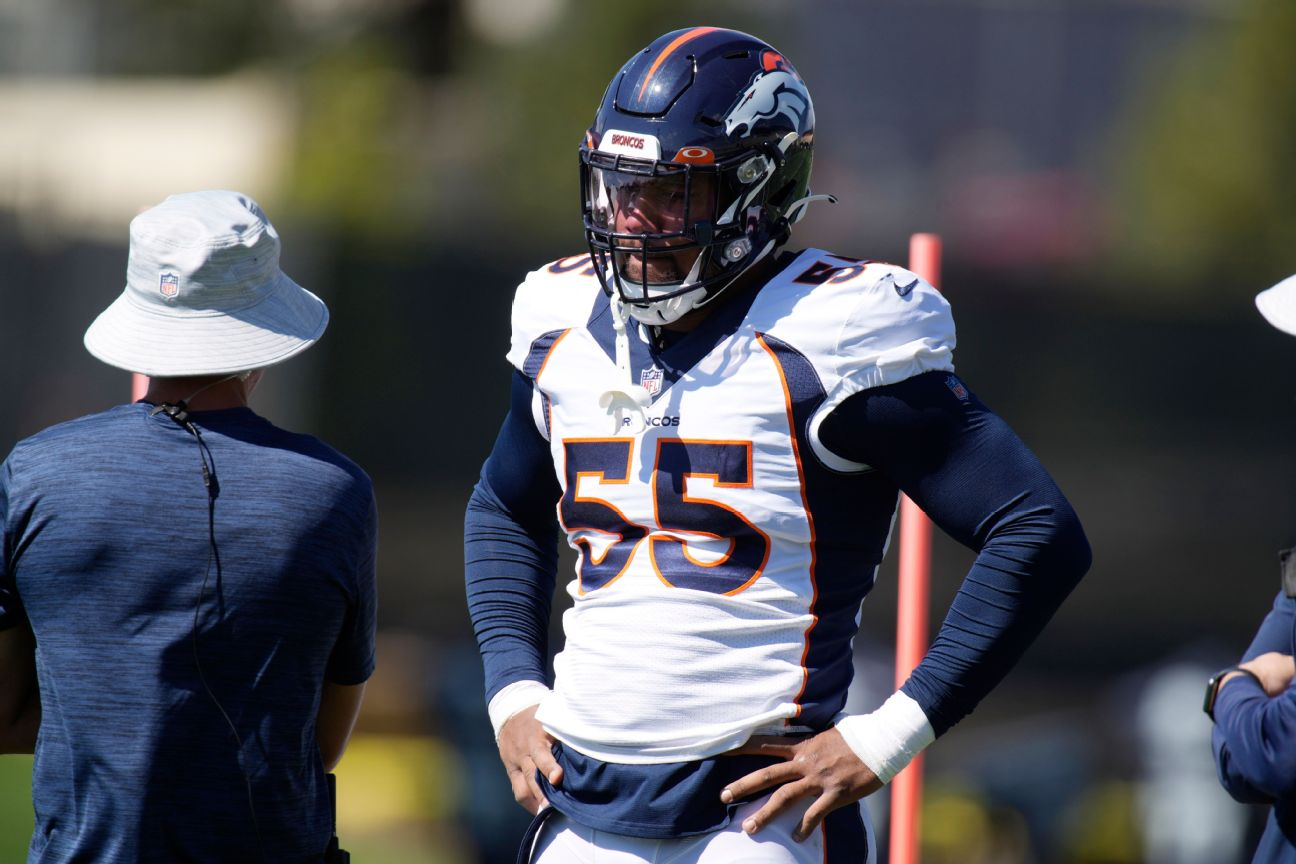 Broncos star LB Chubb to undergo ankle surgery