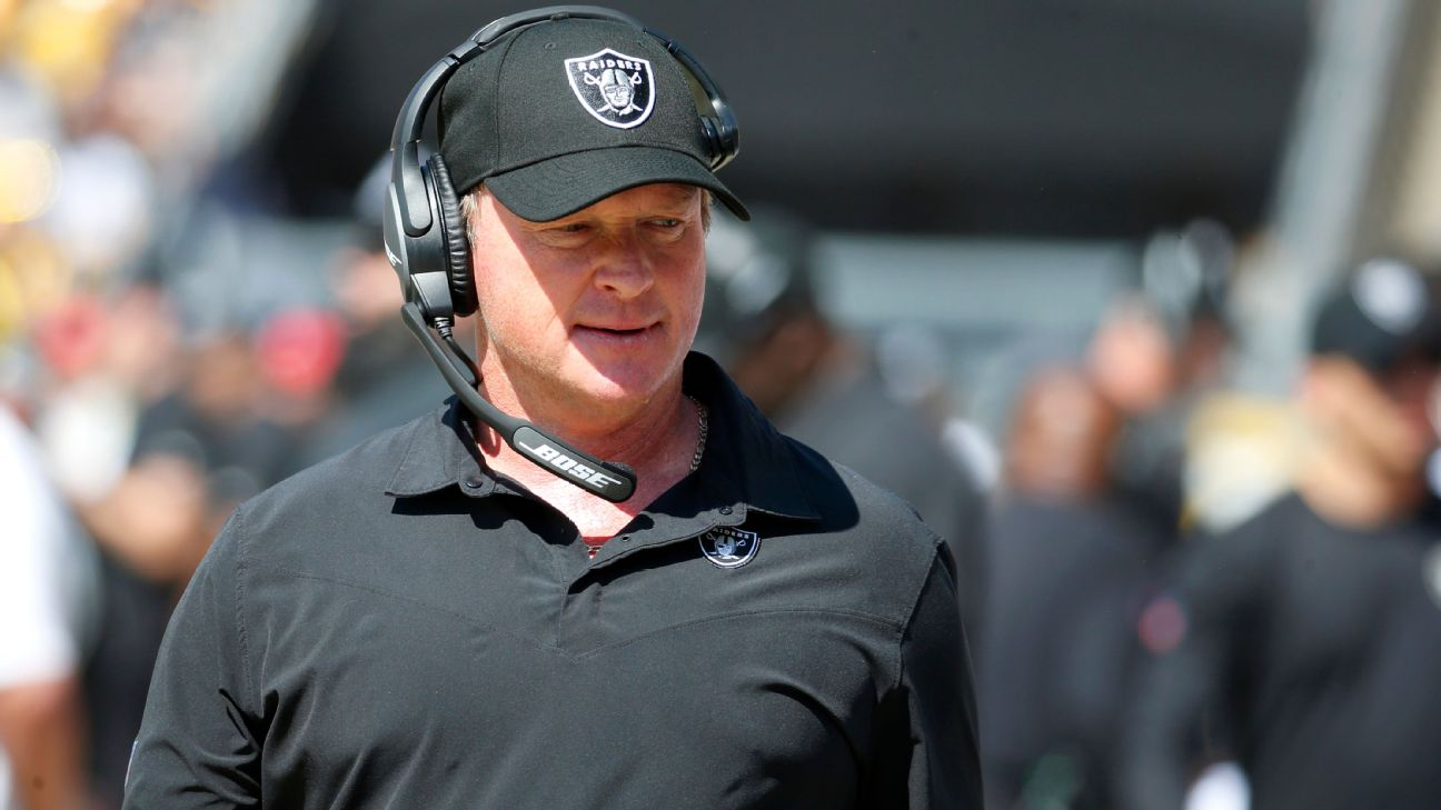 Jon Gruden Might Face Disciplinary Actions For Racist Comment Against DeMaurice Smith