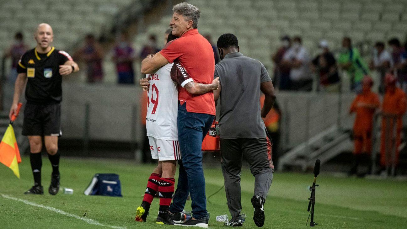 Bastidores do Mengão: Renato ignora problemas do Flamengo e manda recado a jogadores após vitória