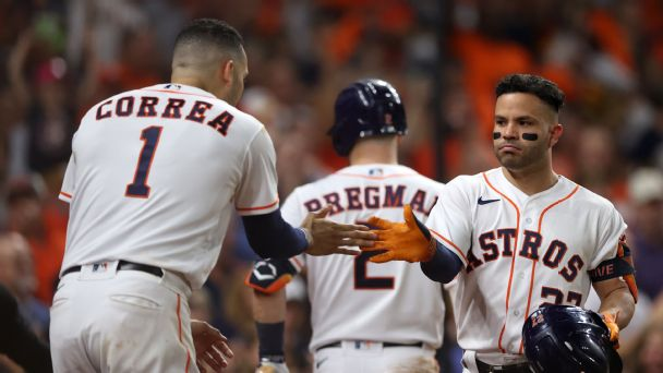 Follow live: Astros look to close out Red Sox, advance to World Series