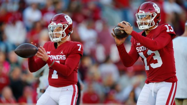 Oklahoma's QB situation, Cincinnati's playoff position and more college football takeaways