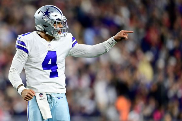 Dak Prescott, Dallas Cowboys, 2021, NFL
