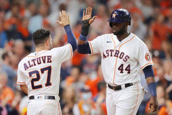 Garcia, Alvarez send Astros back to World Series