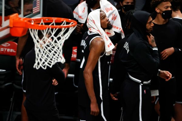 KD says 1-2 Nets not waiting on Kyrie to 'save us'